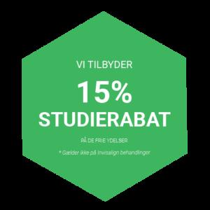 Vi tilbyder 15 % studierabat til studerende | Tandlægen i Glostrup